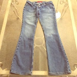 Levi's Too Super Low flare Jeans